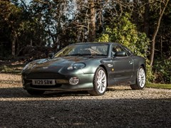 Navigate to Lot 282 - 2000 Aston Martin DB7 Vantage Coupé