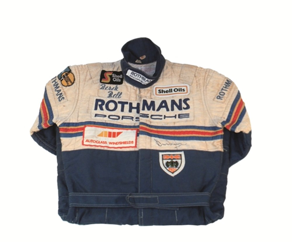 Lot 132 - 1984-85 Derek Bell race suit