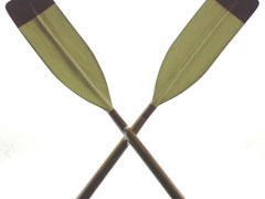 Navigate to A pair of rowing oars