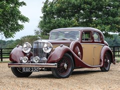Navigate to Lot 209 - 1937 Jaguar SS Saloon (2½ litre)