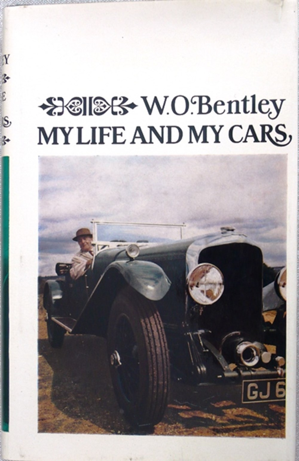 Lot 023 - W.O. Bentley signed book