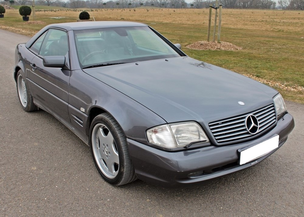 Lot 121 - 1997 Mercedes-Benz SL60 AMG Roadster