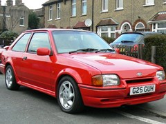 Navigate to Lot 397 - 1989 Ford Escort RS Turbo