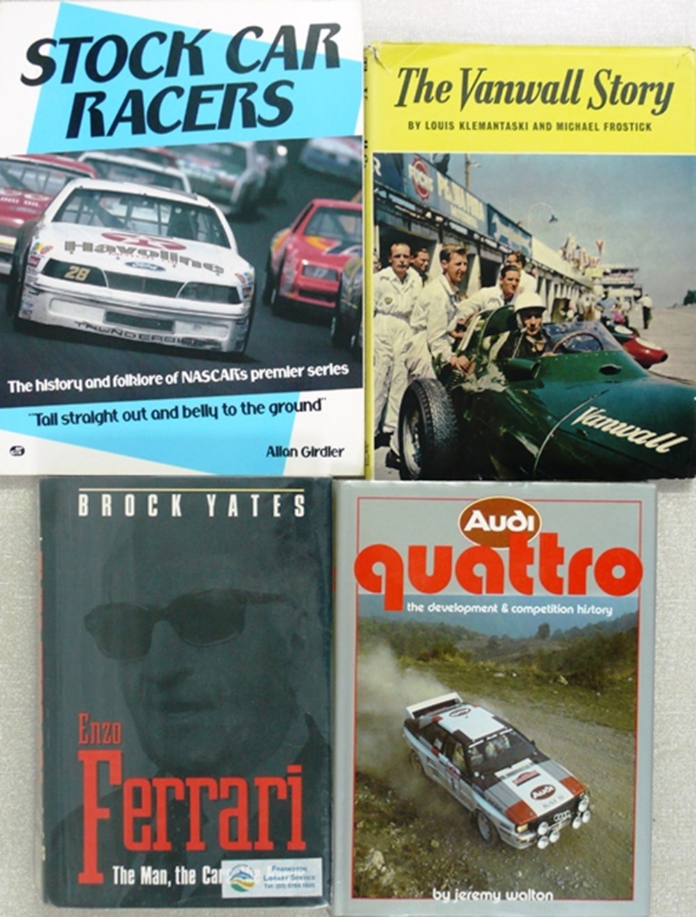 Lot 116 - Motorsport books