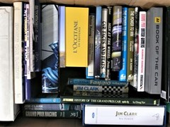 Navigate to A selection of motoring books