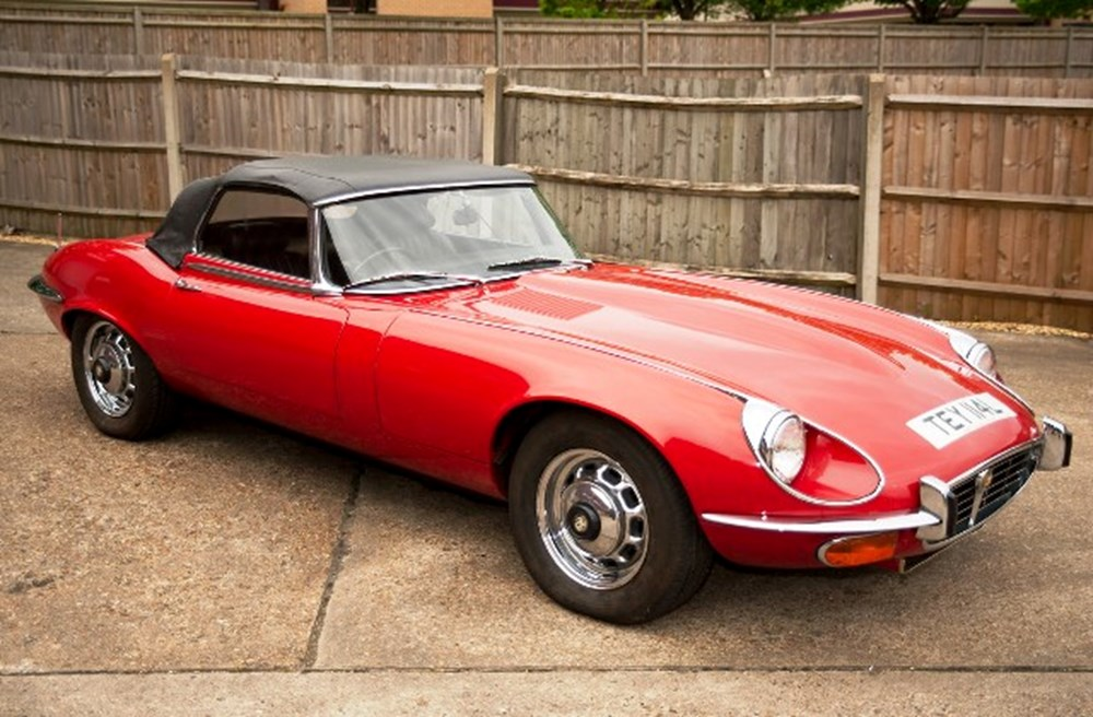 Lot 248 - 1973 Jaguar E-Type Series III Roadster