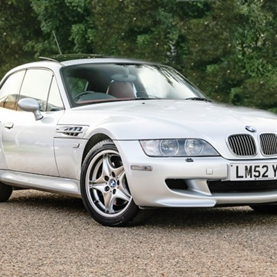 Ref 127 2003 Z3 M Coupe S54 Specification
