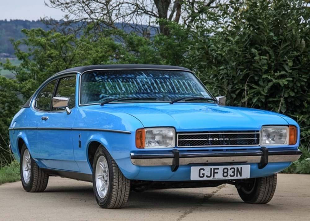 ref 150 ford capri 3000 ghia classic sports car auctioneers. Black Bedroom Furniture Sets. Home Design Ideas