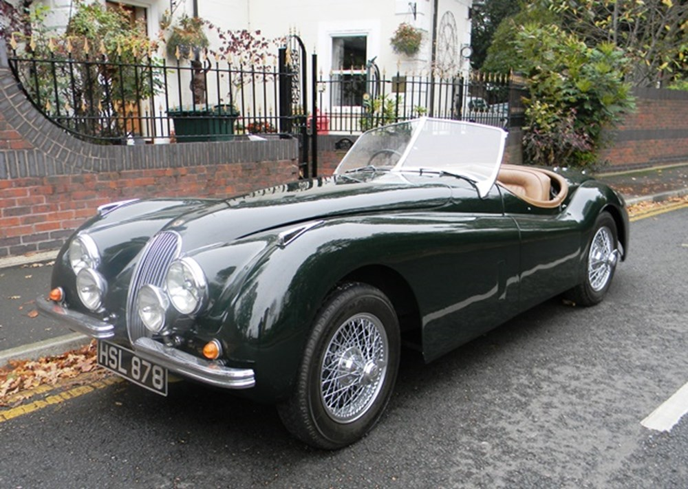 Lot 273 - 1952 Jaguar XK120 Roadster
