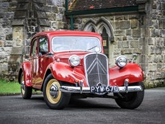 Navigate to Lot 204 - 1955 Citroën Light Fifteen *Price reduction*
