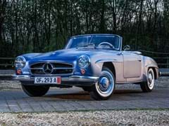 Navigate to Lot 152 - 1962 Mercedes-Benz 190 SL Roadster