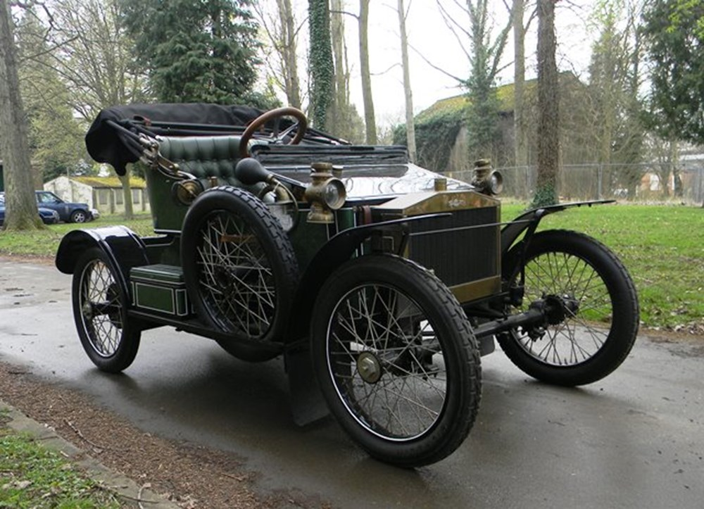 Lot 346 - 1905 Riley 9hp V-Twin