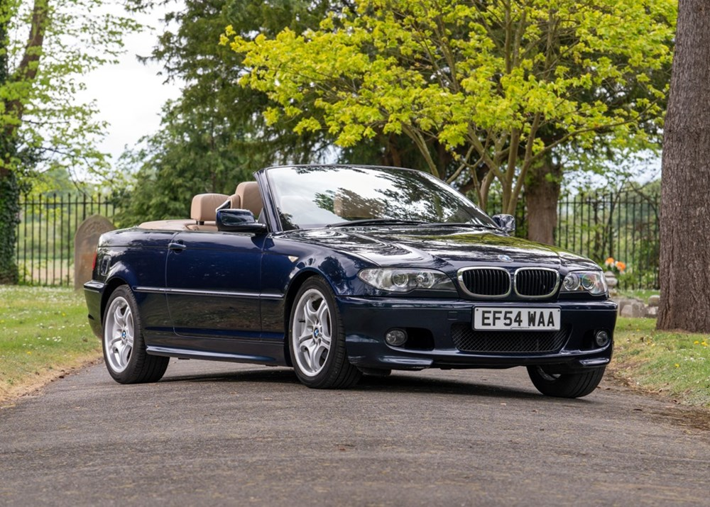 Lot 132 - 2004 BMW 318i Sport Convertible