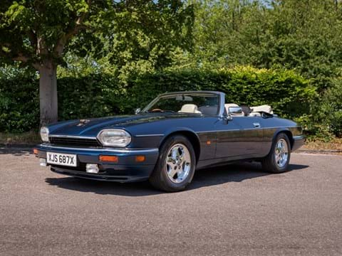 Ref 160  1995 Jaguar XJS Celebration Convertible MRP