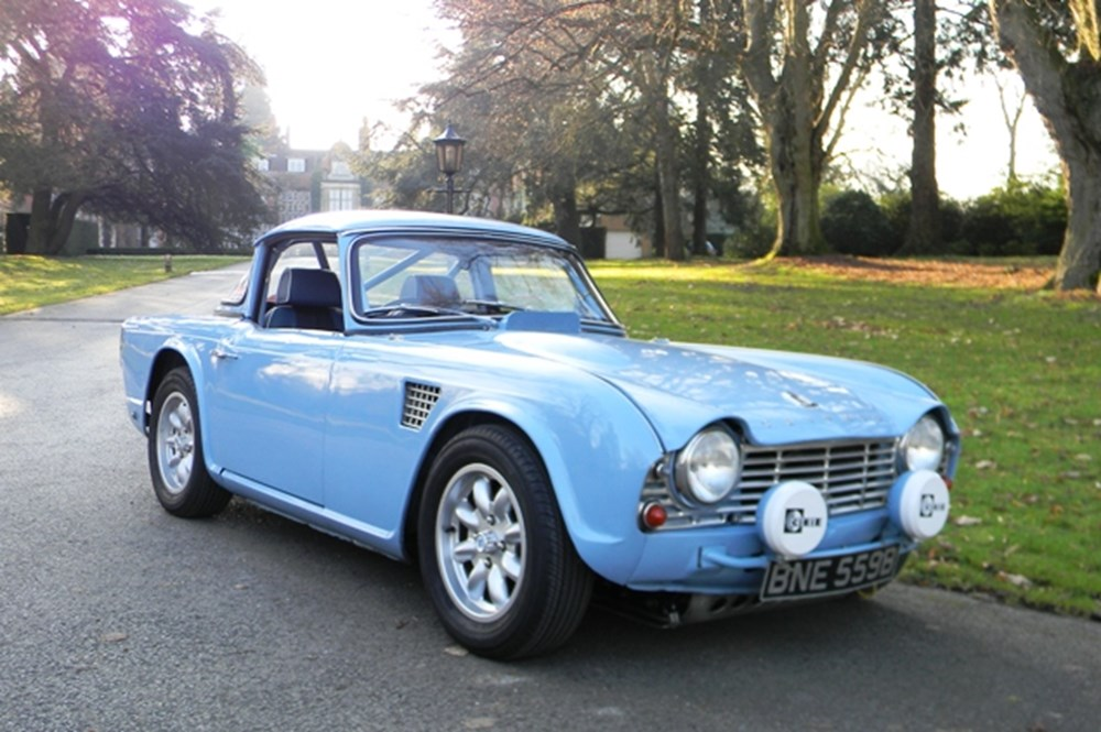 1964 Triumph TR4 - Specialist Classic & Sports Car Auctioneers