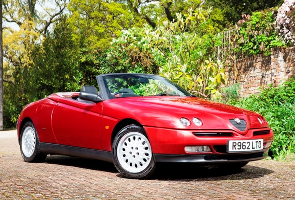 Lot 103 - 1998 Alfa Romeo Spider Series II