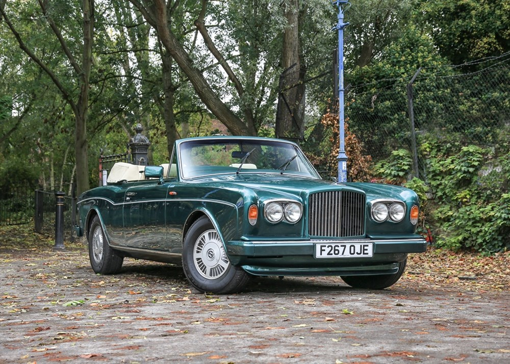 Lot 293 - 1989 Bentley Continental Convertible