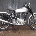 Ref 122  1950 Norton Trials Bike -