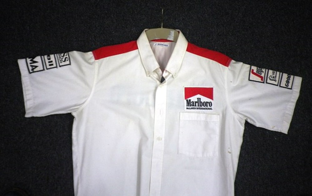 Lot 95 - McLaren team shirt