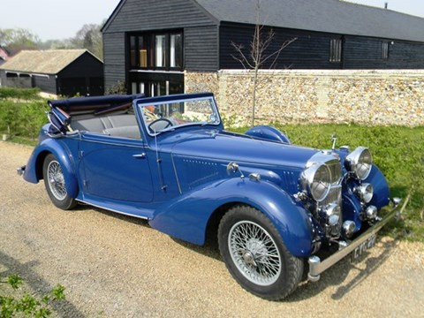 1938 Alvis Speed 25 Type SC three position DHC by Charlesworth