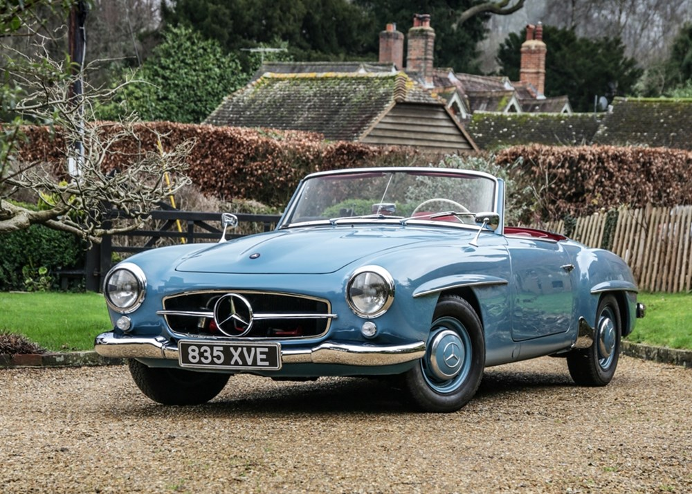Lot 200 - 1960 Mercedes-Benz 190 SL Roadster