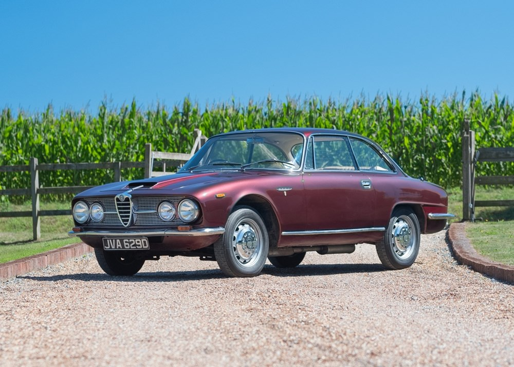 Lot 247 - 1966 Alfa Romeo 2600 Sprint Coupé