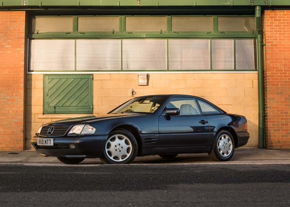 Lot 239 - 1998 Mercedes-Benz SL 500 Roadster