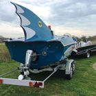 1966/67 Glastron Bat-boat -