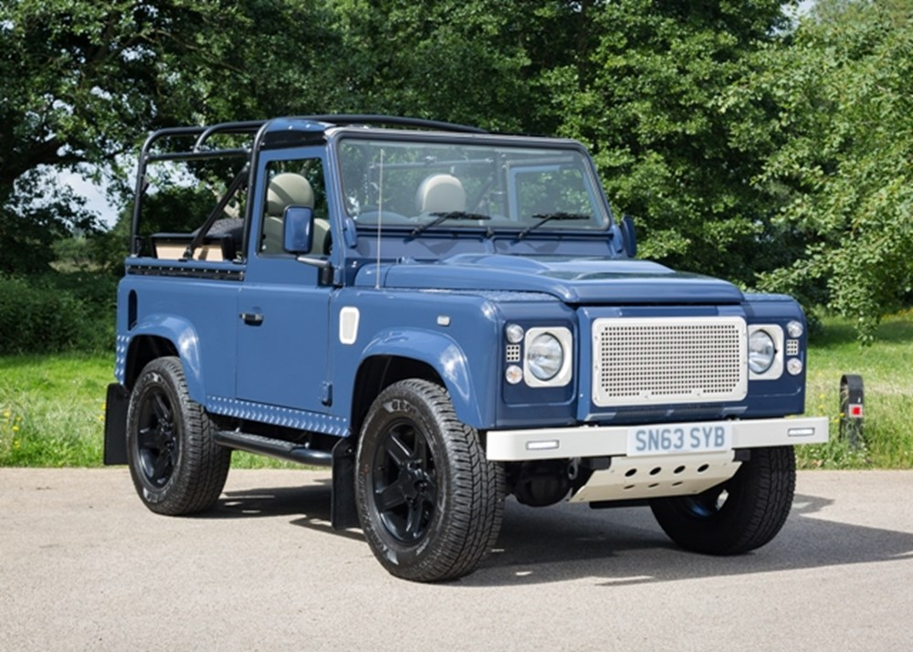 Lot 158 - 2013 Land Rover Defender 90 custom convertible