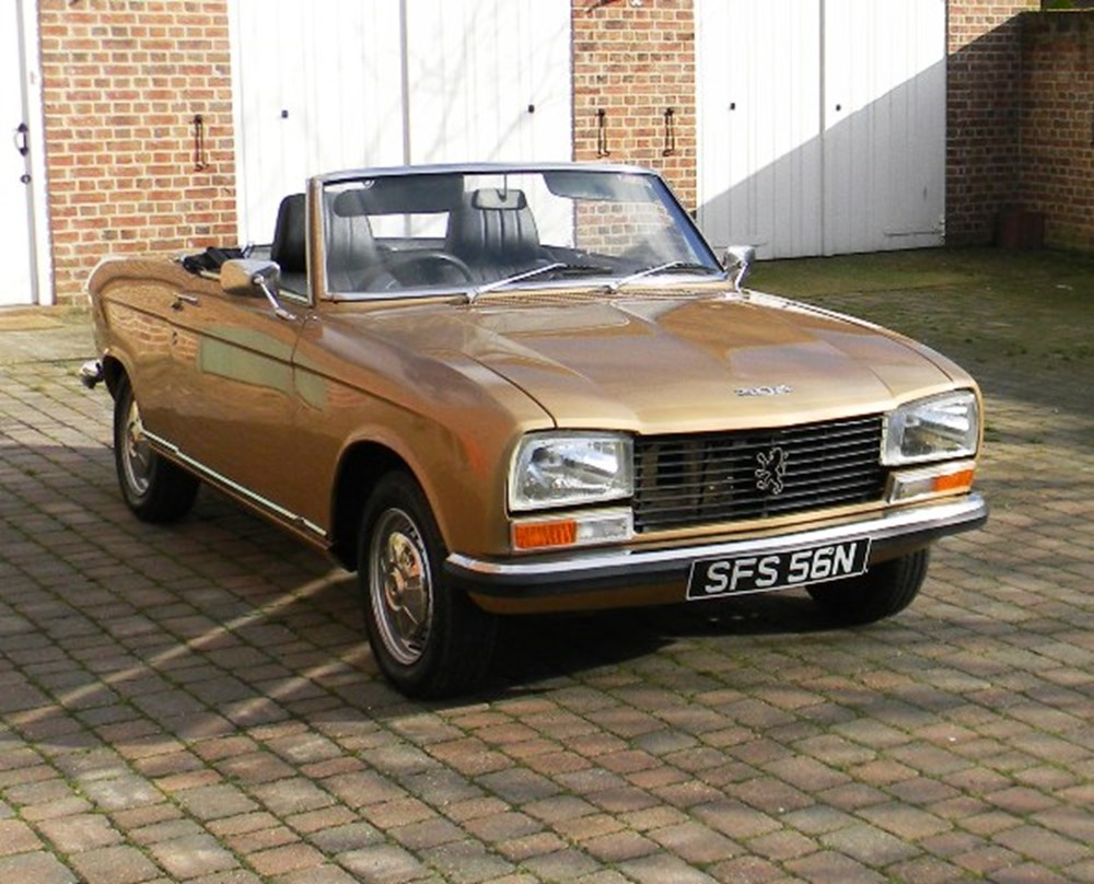 1974 peugeot 304 convertible classic sports car auctioneers. Black Bedroom Furniture Sets. Home Design Ideas