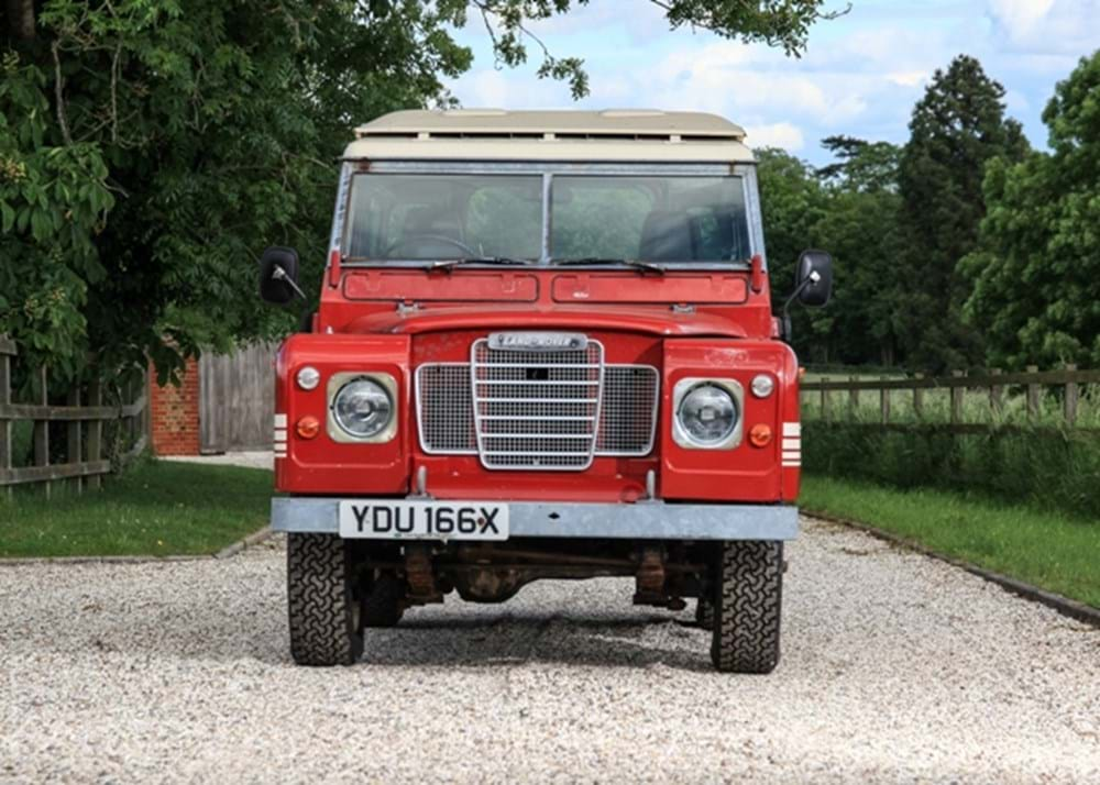 Lot 268 - 1982 Land Rover Series III 88 County (short wheelbase)