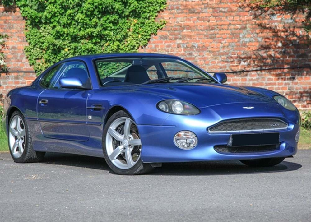 Lot 208 - 2003 Aston Martin DB7 GTA