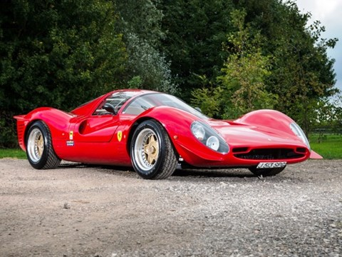 REF 42 1992 Ferrari 330 P4 Recreation by Noble
