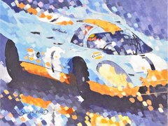 Navigate to Simon Ward Porsche painting.