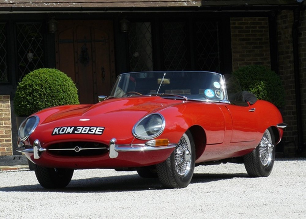 Lot 197 - 1967 Jaguar E-Type Series I Roadster