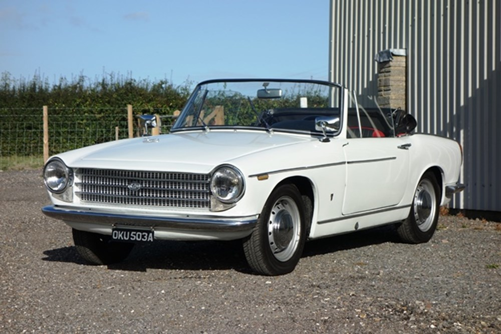 Lot 261 - 1963 Innocenti 1100S Spider