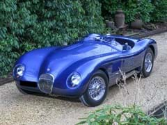Navigate to Lot 184 - 1953 Jaguar C-Type Evocation
