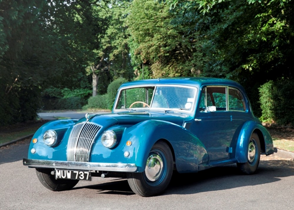 Lot 219 - 1952 AC Two Litre Saloon