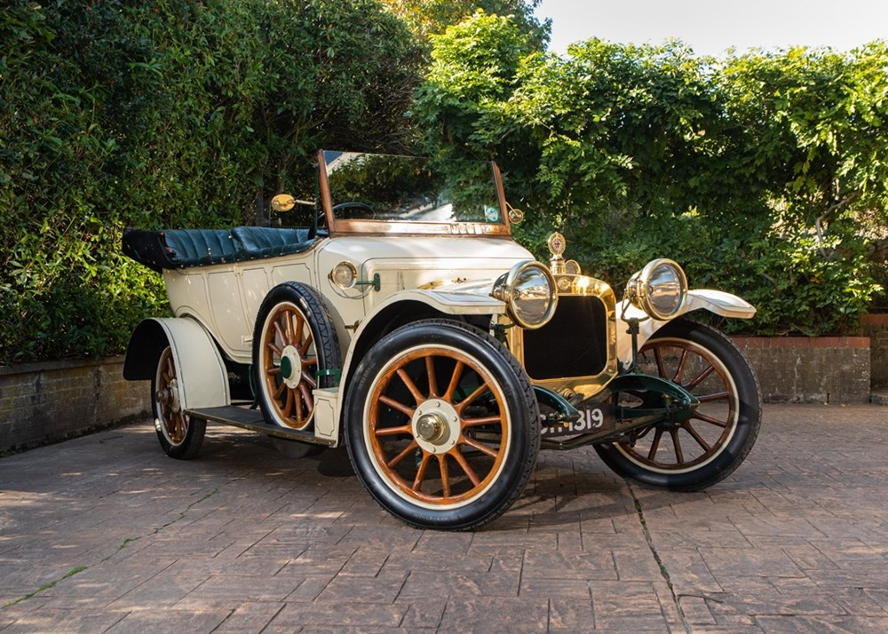 Lot 292 - 1911 Sunbeam 12/16 hp