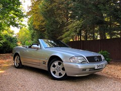 Navigate to Lot 231 - 1999 Mercedes-Benz SL 320 Roadster