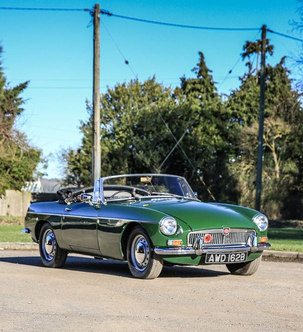 Lot 233 - 1964 MG B Roadster