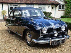 Navigate to Lot 219 - 1952 Austin A90 Atlantic