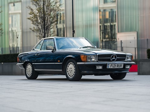 Ref 110 1989 Mercedes-Benz 500 SL Roadster