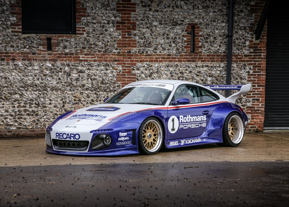 Lot 203 - 2005 Porsche 911 /997 Carrera Rothmans Tribute
