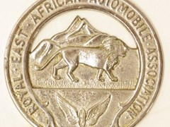 Navigate to Royal African Automobile Association badge.