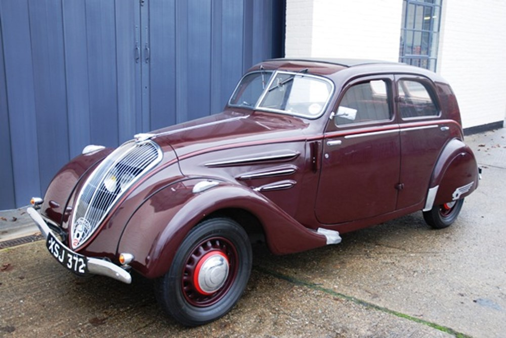 1937 Peugeot 302 Saloon Classic Amp Sports Car Auctioneers