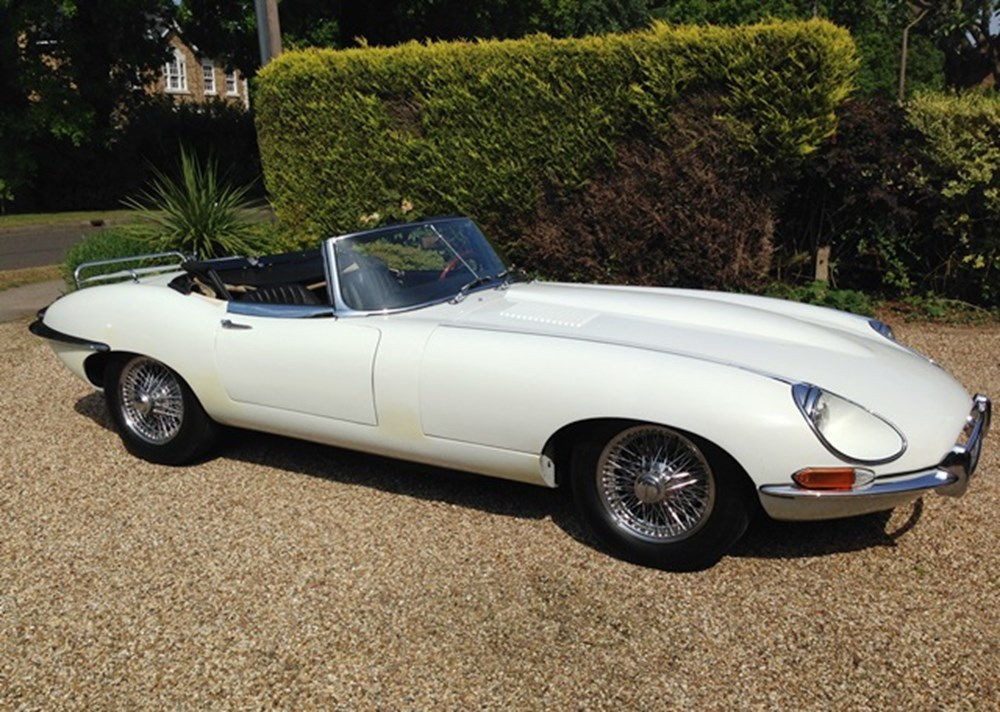 Lot 317 - 1968 Jaguar E-Type Series 1½ Roadster