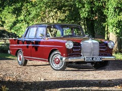 Navigate to Lot 230 - 1965 Mercedes-Benz 190c Fintail
