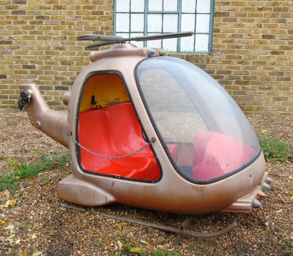 Lot 33 - Two-seat helicopter ...