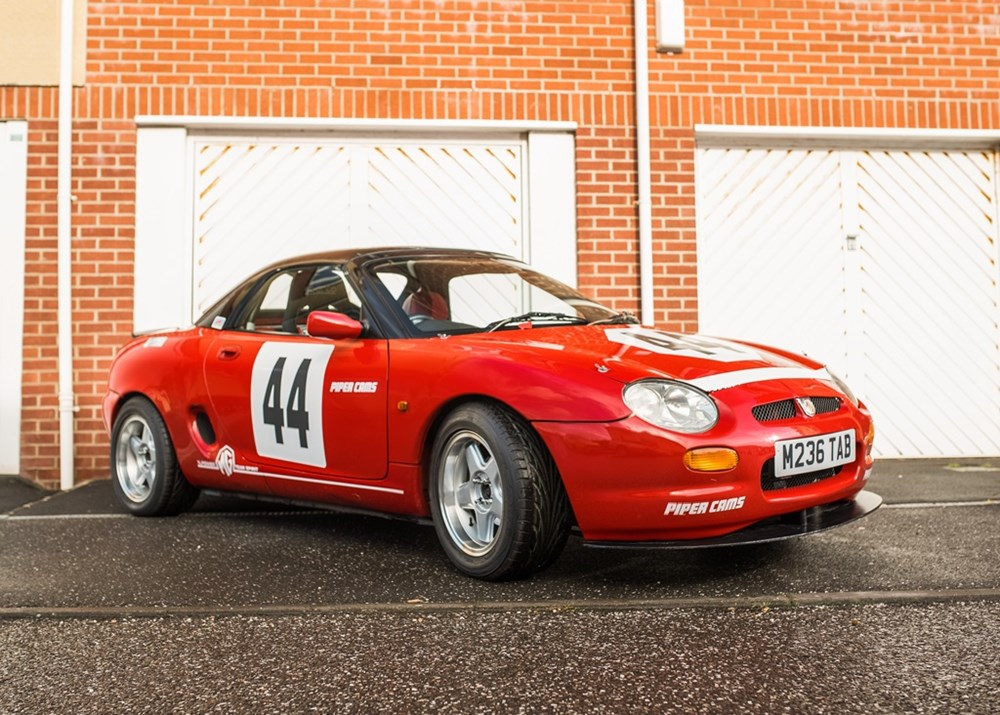Lot 341 - 1995 MG F  Ex-Works Car